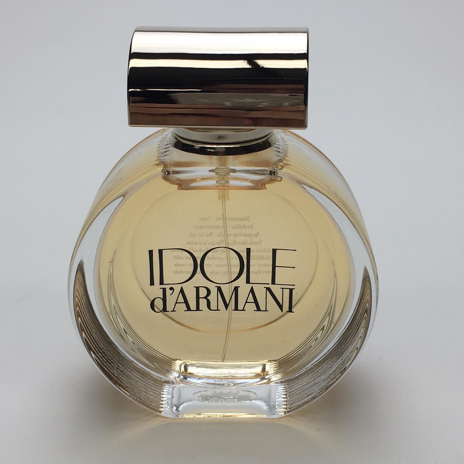 großer Diskontverkauf 100% Spitzenqualität tolle sorten IDOLE D'ARMANI 50ml EDP SPRAY UNBOXED TESTER BY GIORGIO ARMANI