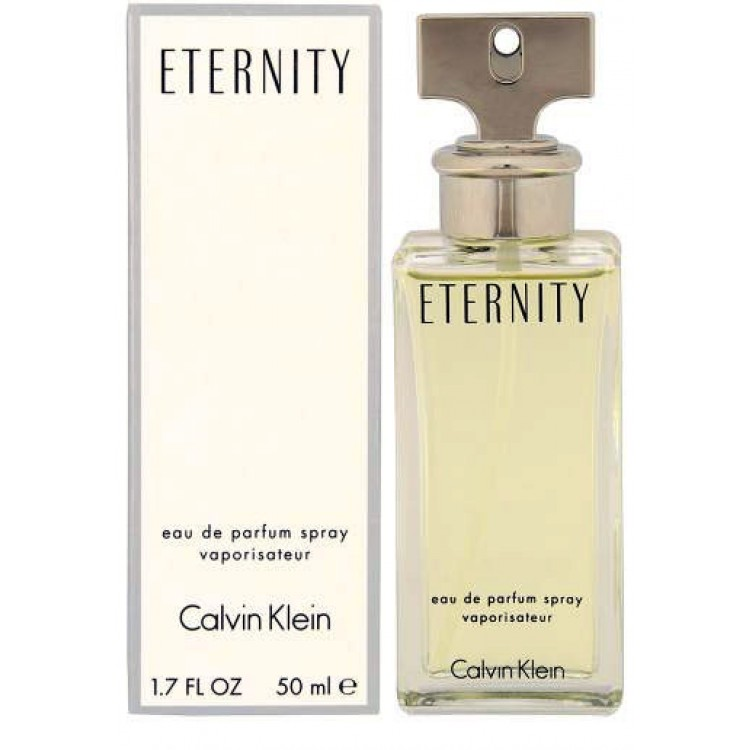 ca49bba54 ETERNITY 50ml EAU DE PARFUM BY CALVIN KLEIN - Hares   Graces