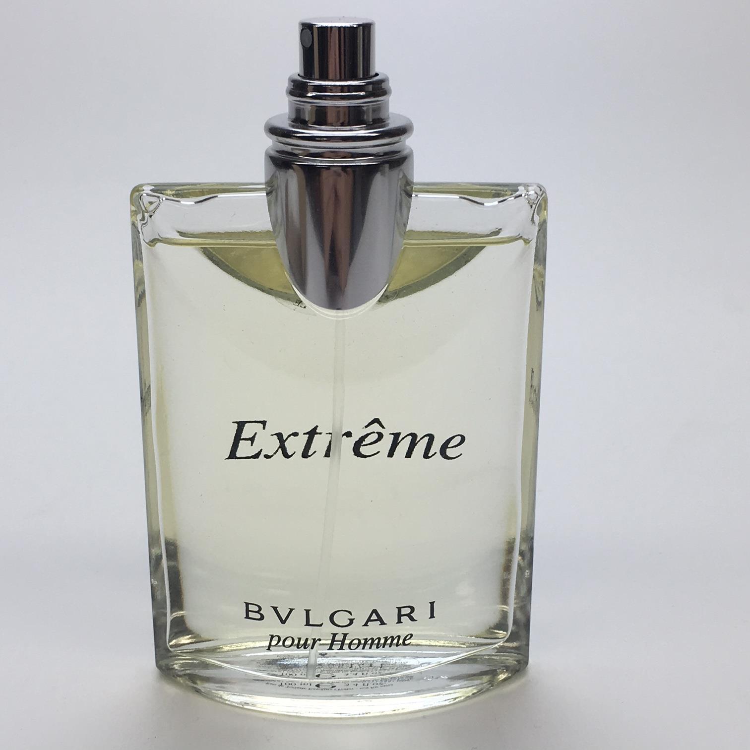 Pour Homme Extreme 100ml Eau De Toilette Unboxed Tester By Bvlgari