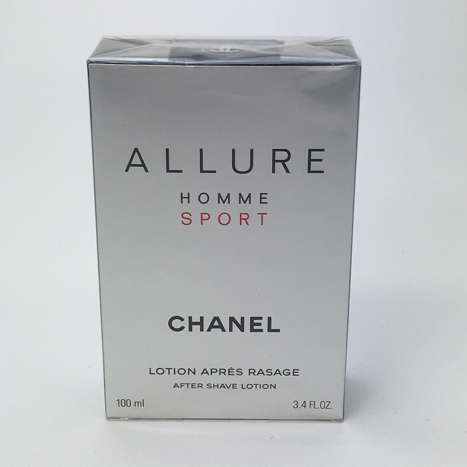9807aa2b5489 ALLURE HOMME SPORT 100ml AFTER SHAVE LOTION BY CHANEL - Hares & Graces
